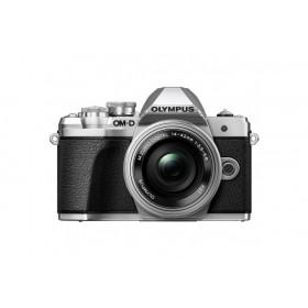 Fotocamera Mirrorless Olympus OM D E-M10 Mark III Kit 14-42mm EZ Silver