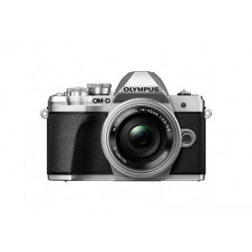 Fotocamera Mirrorless Olympus OM D E-M10 Mark III S Kit 14-42mm EZ Silver
