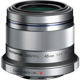 Obiettivo Olympus M.ZUIKO ED 45mm f/1.8 (Silver)