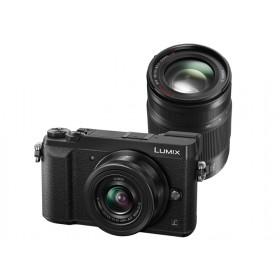 Fotocamera Mirrorless Panasonic Lumix DMC-GX80 Kit 12-32mm + 35-100mm Black