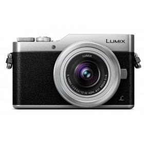 Fotocamera Mirrorless Panasonic Lumix DMC-GX800 Kit (12-32) Silver