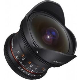 Samyang 12mm T3.1 VDSLR ED AS NCS Fisheye (Fuji X)Garanzia FOWA 5 anni