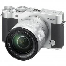 Fotocamera Mirrorless FUJIFILM X-A3 SILVER + XC 16-50/3,5-5,6 OIS II Garanzia Fujifilm Italia