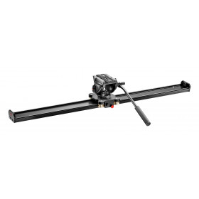Manfrotto Kit slider 100cm e testa fluida 500