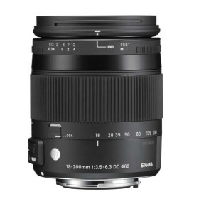 Obiettivo Sigma 18-200mm f/3.5-6.3 (C) DC Macro OS HSM Contemporary (Nikon)