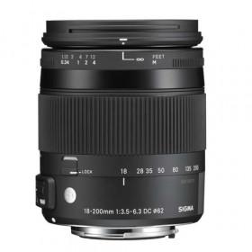 Obiettivo Sigma 18-200mm f/3.5-6.3 (C) DC Macro OS HSM Contemporary (Nikon) Garanzia Italia 3 anni