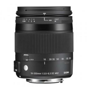 Obiettivo Sigma 18-200mm f/3.5-6.3 (C) DC Macro OS HSM Contemporary (Canon) Garanzia Italia 3 anni