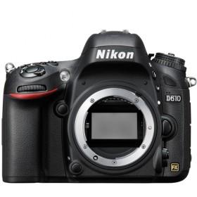 Fotocamera Digitale Reflex Nikon D610 Body (Solo Corpo Macchina) Black