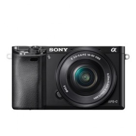 Fotocamera Mirrorless Sony A6000 ILCE-6000L Kit SEL-P 16-50mm Black