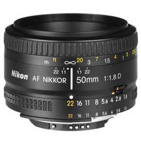 Obiettivo Nikon Nikkor AF 50mm f/1.8D
