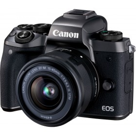 Fotocamera Mirrorless Canon EOS M5 Kit EF-M 15-45mm Black