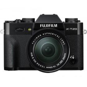 Fotocamera Mirrorless Fujifilm Finepix X-T20 Kit 16-50mm Black Garanzia Fujifilm Italia