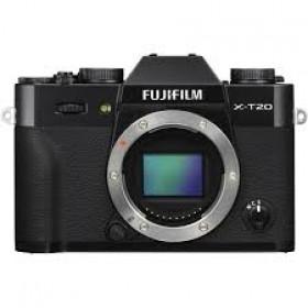 Fotocamera Mirrorless Fujifilm Finepix X-T20 Body Black Garanzia Fujifilm Italia