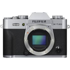 Fotocamera Mirrorless Fujifilm Finepix X-T20 Body Silver Garanzia Fujifilm Italia