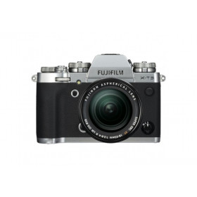 FUJIFILM X-T3 + 18-55MM + 55-200MM SILVER Garanzia Fujifilm Italia