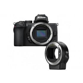Fotocamera Nikon Z50 Body Black + FTZ adapter (ENG)