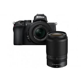 Fotocamera Nikon Z50 + Nikkor Z DX 16-50mm F/3.5-6.3 VR + Nikkor Z 50-250mm (ITA)