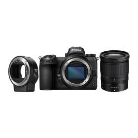 Fotocamera Mirrorless Nikon Z7 + Nikkor Z 24-70mm F4 + FTZ Menù Inglese