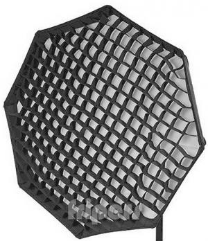 Godox Softbox Octa 120 con griglia e con anello Bowens