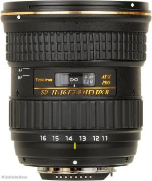 Obiettivo Tokina AT-X 116 PRO DX II 11-16mm f/2.8 (Canon)