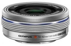 Obiettivo Olympus 14-42mm f/3.5-5.6 EZ Silver