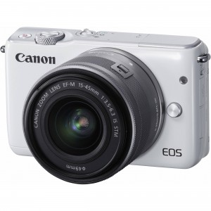 Fotocamera Mirrorless Canon EOS M10 Kit EF-M 15-45mm White