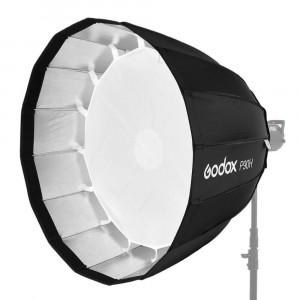 Godox P90H Soft Box Parabolico D. 90CM Profondità 69,4 cm + Anello Bowens