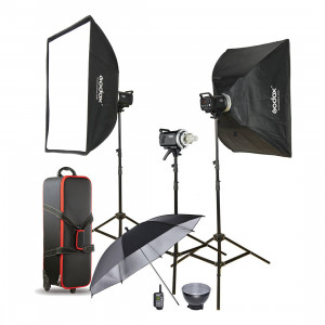 Godox MS200-D Kit 3 monolight