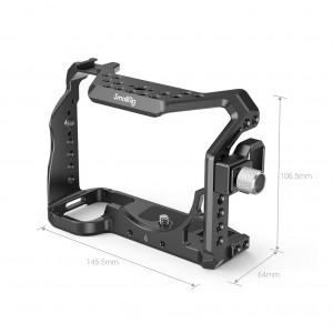 SmallRig 3007 Gabbia per fotocamera con morsetto per cavo HDMI per Sony A7S III