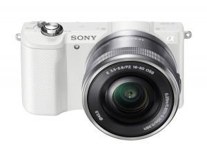 Sony Alpha 5000 a5000 ILCE-5000L Kit SEL-P 16-50mm White (Menù Inglese)