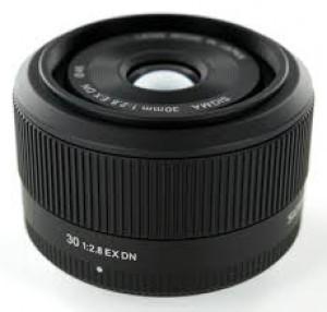 Obiettivo Sigma 30mm f/2.8 Art Micro 4/3 Black