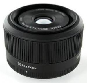 Obiettivo Sigma 30mm f/2.8 Art Micro 4/3 Black Garanzia Italia 3 anni