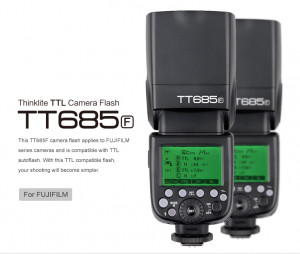 Flash Godox TT685 TTL Fujifilm