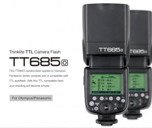Flash Godox TT685 TTL Olympus