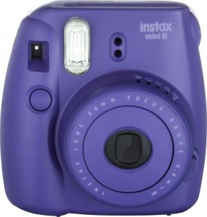 Fotocamera Compatta Fuji Instax Mini 8 Grape Purple Garanzia Fujifilm Italia