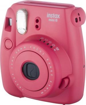 Fotocamera Compatta Fuji Instax Mini 8 Raspberry Garanzia Fujifilm Italia