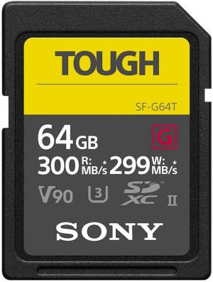 Scheda di Memoria SD Sony SDXC 64GB UHSII (300MB/s)