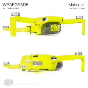 Skin per Mavic Mini (Neon Yellow)