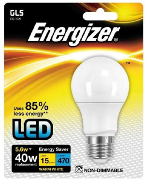 Energizer ES8703 Lampadina LED (confezione 4 pezzi)