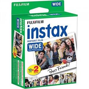 Fujifilm Instax Wide Film 20 Pellicole Instantanee per Fotocamere Instax Wide