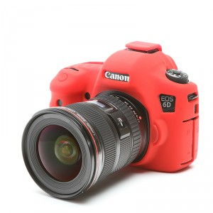 Camera Armor easyCover Silicone Red Canon 6D