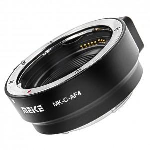 Anello adattatore da Canon EF e EF-S su EOS M – Meike C-AF4