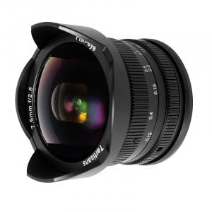 7artisans 7.5mm f/2.8 Fish Eye II Canon M