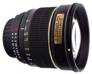 Samyang 85mm f/1.4 Aspherical IF (Sony E)