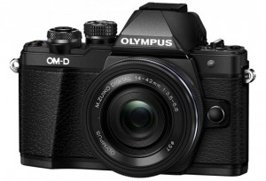 Fotocamera Mirrorless Olympus OM D E-M10 Mark II Kit 14-42mm EZ Black