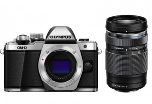 Fotocamera Mirrorless Olympus OM-D E-M10 Mark II Kit 14-150mm II Silver