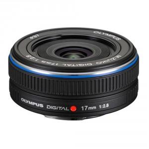 Olympus M.ZUIKO DIGITAL 17mm f2.8 (Black)