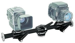 Braccio per 4 fotocamere access.arm nero