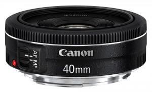 Obiettivo Canon EF 40mm f/2.8 STM Black