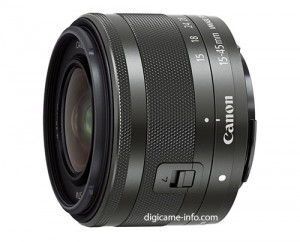Obiettivo Canon EF-M 15-45mm F3.5-6.3 IS STM Black